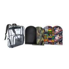 Clear Tuffy Backpack